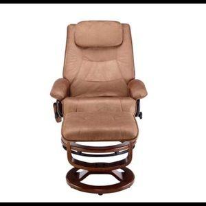 Superbe Other   Relaxzen Reclining Massage Chair And Ottoman